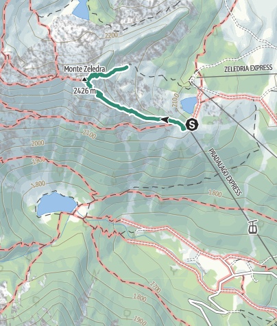 Map / Monte Zeledria