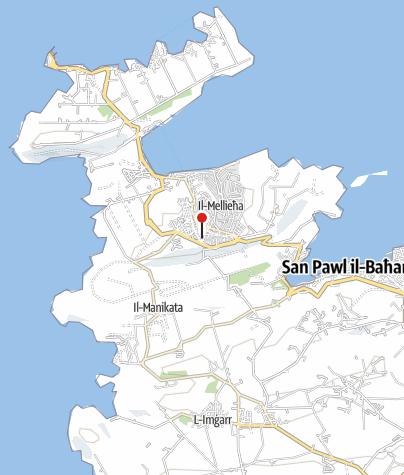 Karte / Malta, Gozo & Comino – Geschichte auf kleinstem Raum