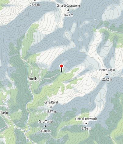 Karte / Rifugio dei Walser