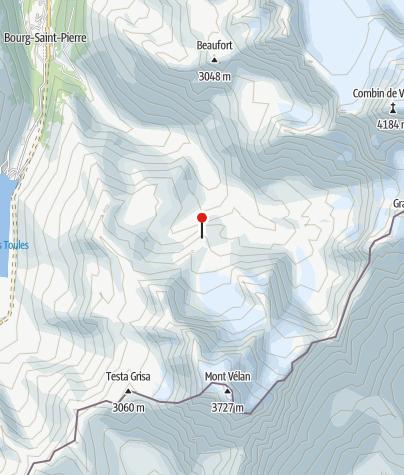 Karte / Cabane du Vélan