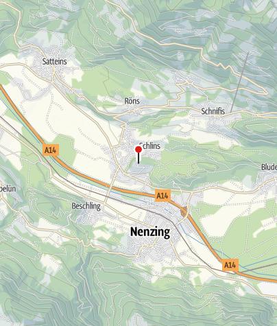 Karte / Schlins, Burgruine Jagdberg