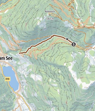 "Karte / T20 ""Bachweg-Trail"""