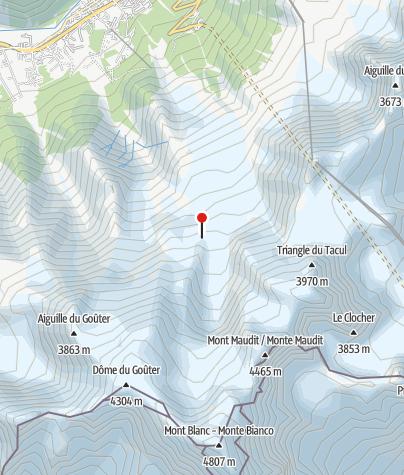 Karte / Refuge des Grands Mulets (FFCAM)