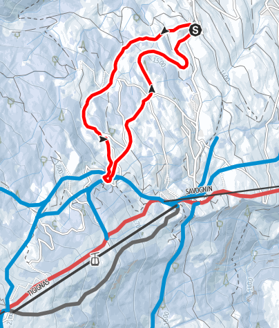 Map / Roggi's Trail