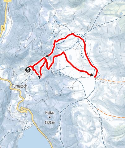 Map / Alp Flix Tour