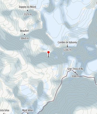Karte / Cabane de Valsorey