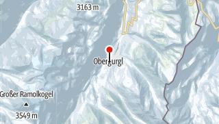 Karte / Rassige Nordabfahrten in den weniger bekannten südlichen Ötztaler Alpen