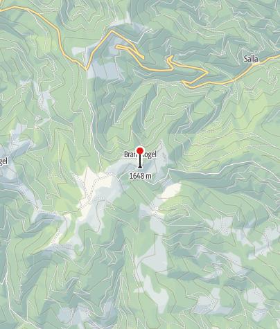Karte / Gipfelkreuz: Brandkogel