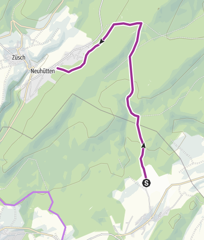 Hunsrück Hochwald Karte.Nationalpark Radquerung 10 Radtour Outdooractive Com