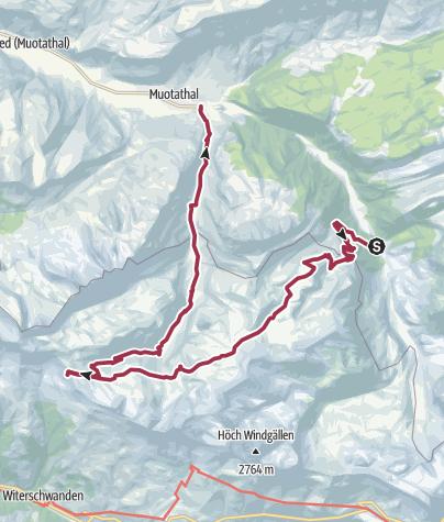 Karte / Mit Ausdauer zur Chinzig Chulm