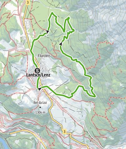 Map / 749 Hängebrücke Val Meltger