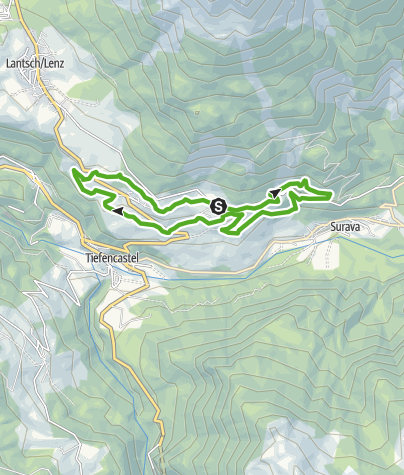 Map / 750 Burgruine Belfort