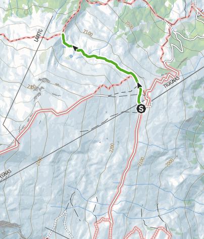 Karte / Alpenflora-Erlebnispfad