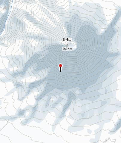 Karte / Campamento Pirámides