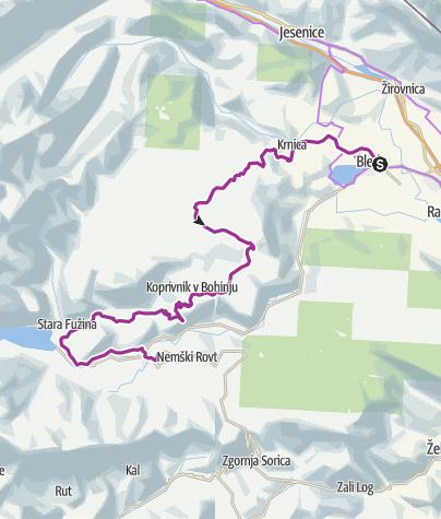 Map / Visit Bohinj