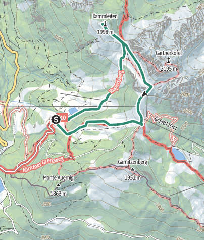 Karte / Kammleiten