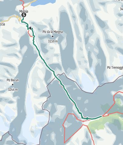 Cartina / Il Passo del Muretto
