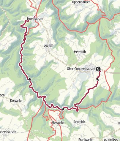 Karte / Traumschleife x3 feat. Saar-Hunsrück-Steig