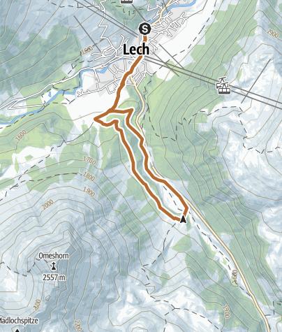 Karte / Wiesele-Trail