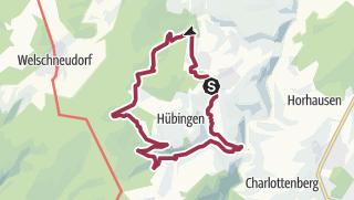 Karte / Wäller Tour Buchfinkenland