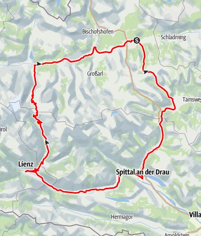 Map / Großglockner Roundtrip