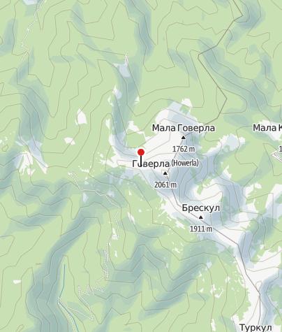 Karte / Biwak Hoverla