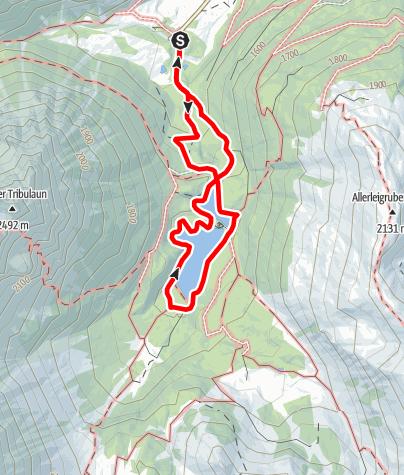 Karte / Obernbergersee - Rundweg