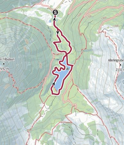 Map / Obernbergersee - Rundweg