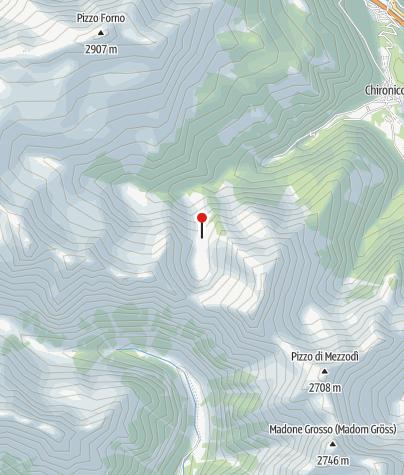 Karte / Bivaco Laghetto