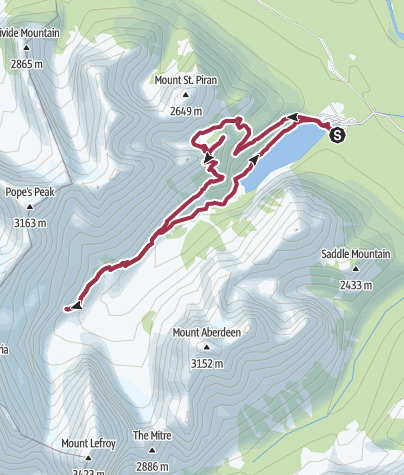 Lake Agnes und Plain of Six Glaciers-Trail • Wanderung ...