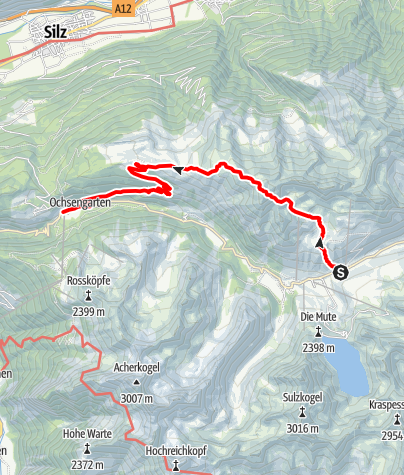 Map / Mountain peak Pirchkogel