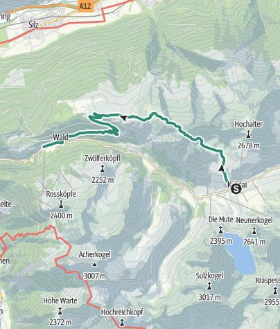 Map / Mountain peak Pirchkogel