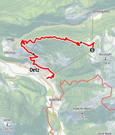Map / Hochoetz - Stufenreich - Oetz