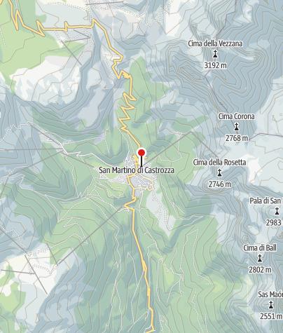 Cartina / Dolomiti Palaronda Ferrata Quick Tour