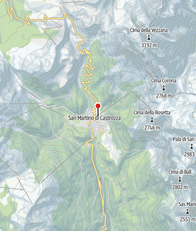 Cartina / Dolomiti Palaronda Ferrata Explorer