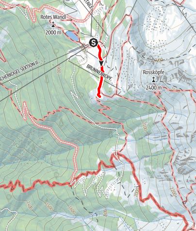 Karte / WIDIs Themenweg - Hoch hinaus! Die Runde für Gipfelstürmer