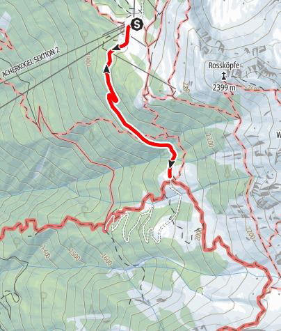 Karte / WIDIs Themenweg - Alle Sinne! Der Abenteuerweg mit Scharfsinn