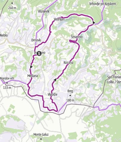 Map / Peach Route