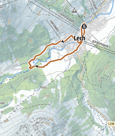 Karte / Omes-Schleife