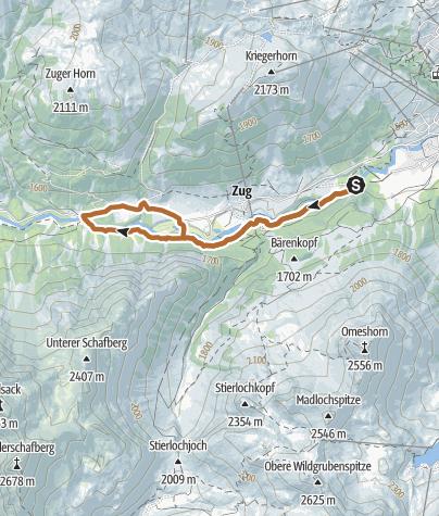 Karte / Weißbach-Runde