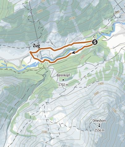 Karte / Zuger-Schleife