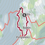Map / Poqueira Gorge Loop Walk