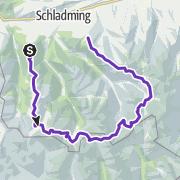 Karte / Schladminger Tauern Trail