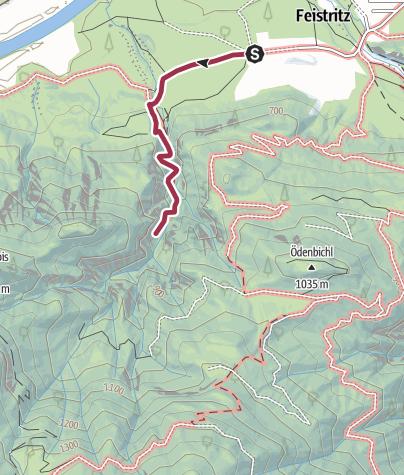 Karte / Gaislochklamm