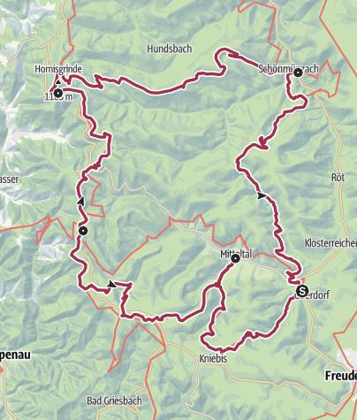 Karte / Seensteig