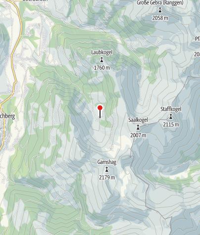 Karte / Jagdhütte, 1419 m