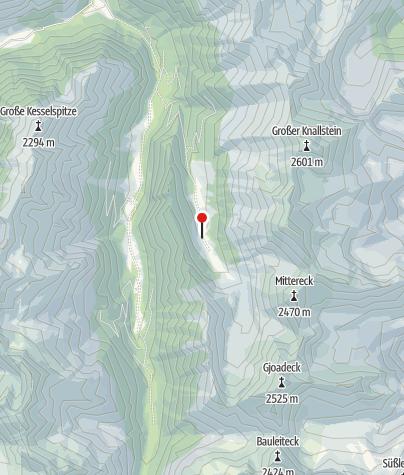 Karte / Köckhütte ~1525m