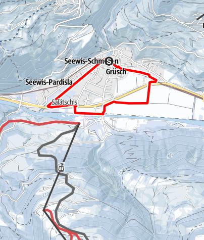 Map / Winterwanderweg Grüsch