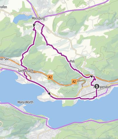 Map / Pirkerkogel - Gaisrücken Umrundung