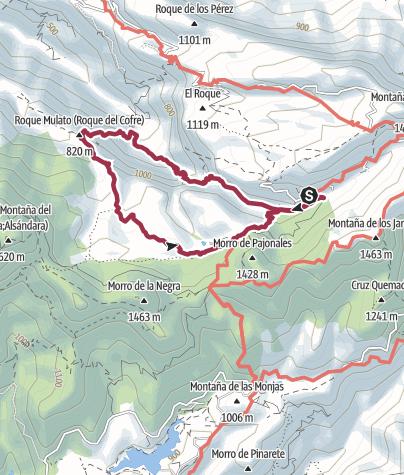 Map / El Juncal Circular walk (DAY 5 Replacement walk)